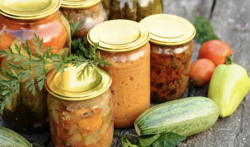 vegetable garden canning